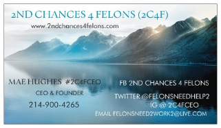 2nd Chances 4 Felons (2C4F)
